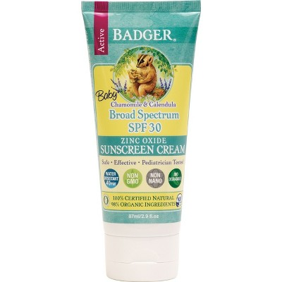 Sunscreen & Tanning: Badger Baby