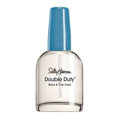 Sally Hansen Nail Treatment  45109 Double Duty Base & Top Coat - 0.45 fl oz