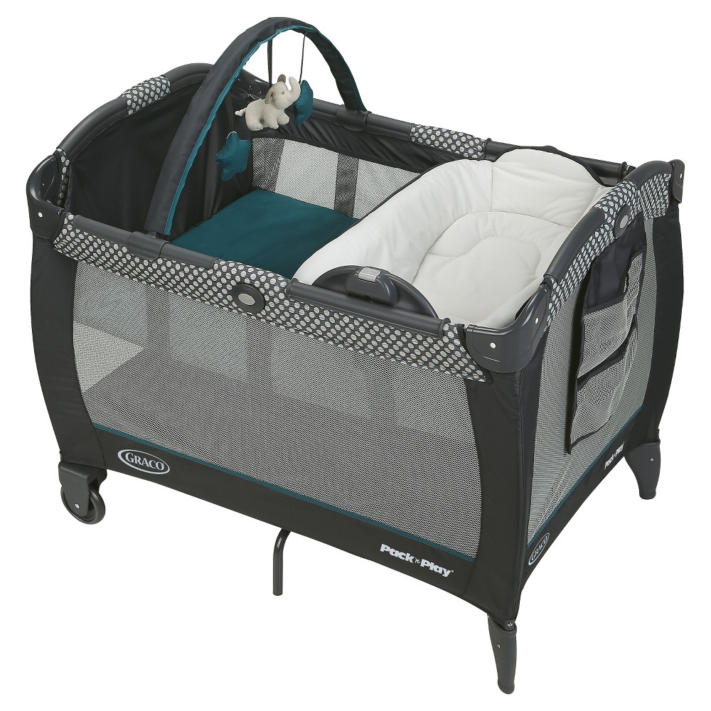 Graco Reversible Napper & Changer LX Playard - Quincy