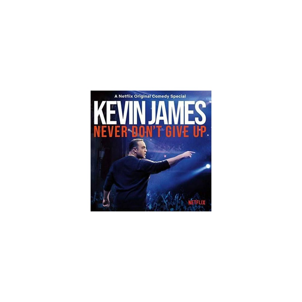 Kevin James - Never Don't Give Up (Vinyl)
