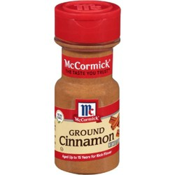 McCormick Ground Cinnamon - 2.37oz