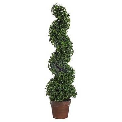 Faux Boxwood Topiary (35 )- A&B Home