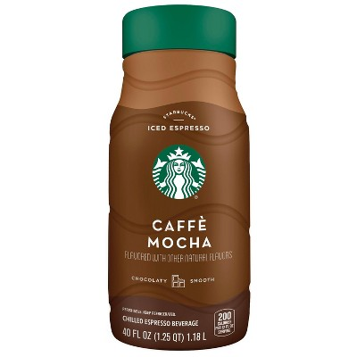 Starbucks Caffe Mocha Iced Espresso Classics - 40 fl oz