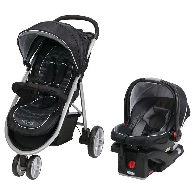 Graco® Aire3 Click Connect Travel System SnugRide Click Connect 35 - Gotham