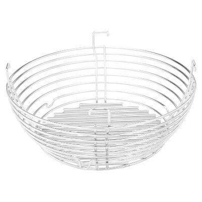 """Kamado Joe Versatile 304 Stainless Steel Rustproof Charcoal Sifting Basket Outside Grill Accessory for 18"""" Cooking Surfaces"""
