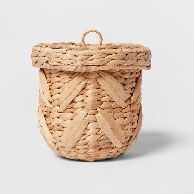 Medium Woven Chevron Canister Natural - Opalhouse™