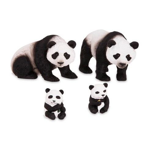 Terra Panda Family Plastic Figurine Animal Set Target