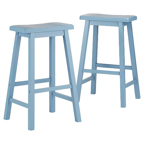 "Vinton 29"" Barstool Wood (Set of 2) - Inspire Q - image 1 of 6"