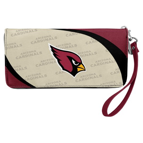 New NFL Arizona Cardinals Curve Zip Organizer Wallet : Target  hot sale