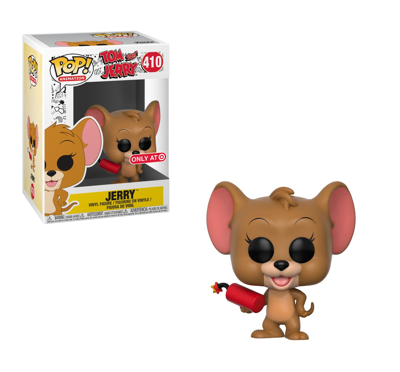 Funko POP! Animation Tom and Jerry S1- Jerry with Explosives (Exclusive) Mini Figure - image 1 of 3