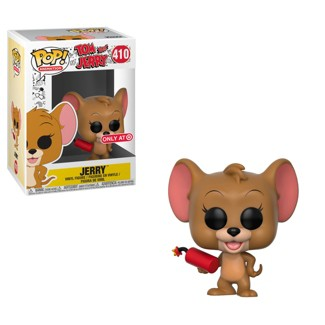 Funko POP! Animation Tom and Jerry S1- Jerry with Explosives (Exclusive) Mini Figure