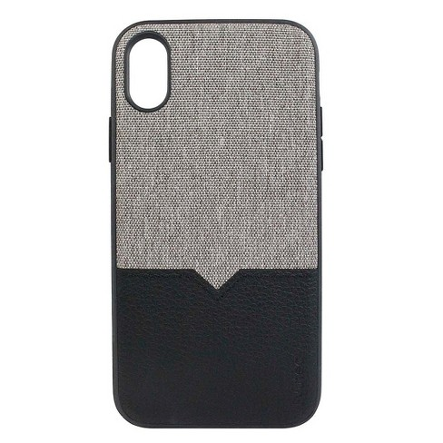 super popular 8ad12 449a7 Evutec Apple iPhone XR Northill Case (with Car Vent Mount) - Gray/Black