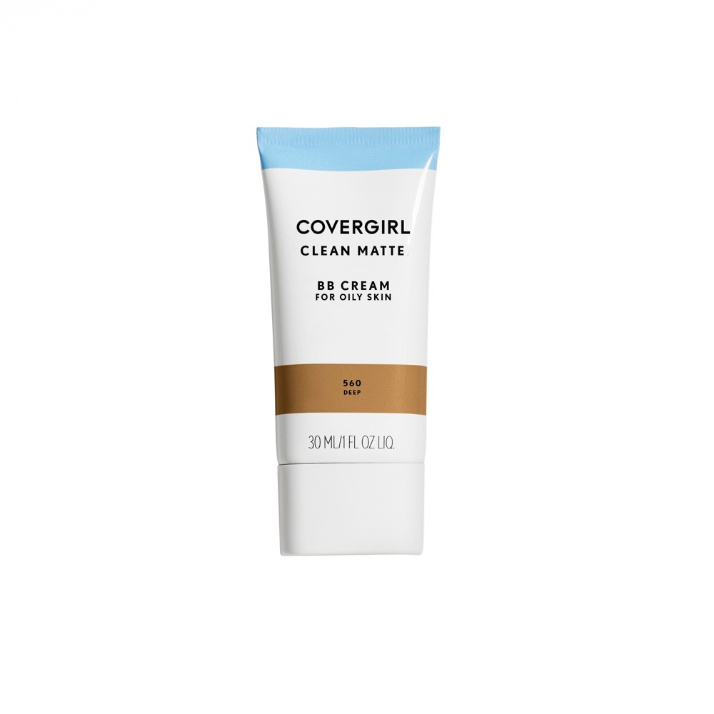 Image of COVERGIRL Clean Matte BB Cream 560 Deep 1 fl oz