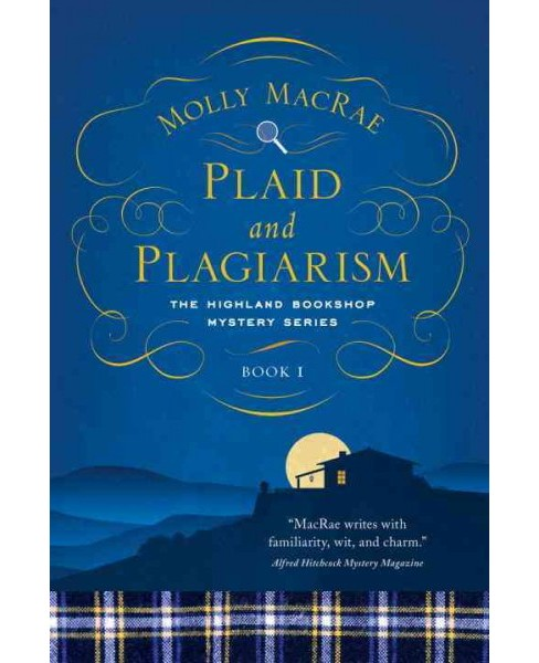 Plaid and Plagiarism (Hardcover) (Molly MacRae) - image 1 of 1