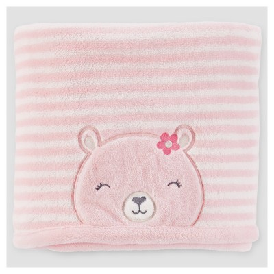 Baby Girls' Valboa Bear Blanket - Just One You™ Made by Carter's® Pink