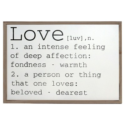 Love Wall Decor (24 x16 )- VIP Home & Garden