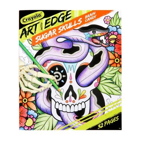 Crayola Art with Edge Sugar Skulls Coloring Book - image 1 of 4