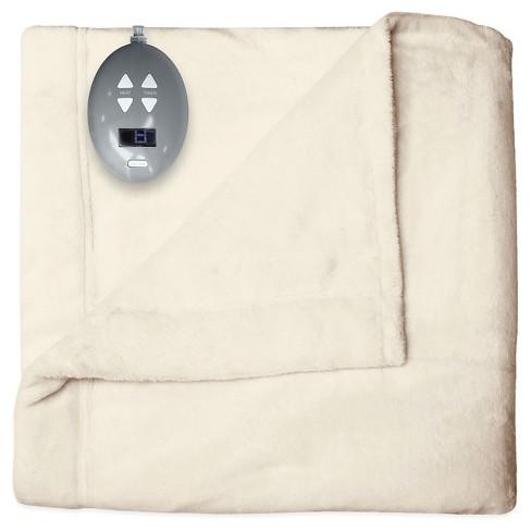 Velvet Plush Warming Blanket - Soft Heat® - image 1 of 3