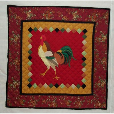 C&F Home Rooster Table Topper