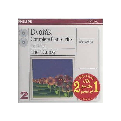 Beaux Arts Trio - Dvorak:Complete Piano Ctos (CD) - image 1 of 1