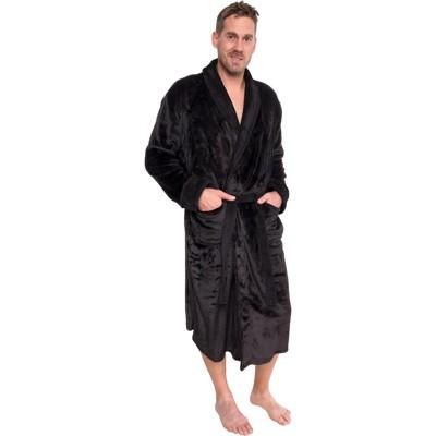 Ross Michaels Men's Plush Luxury Bathrobe