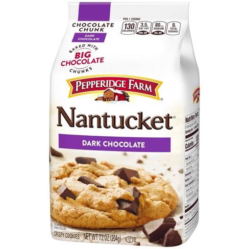 Pepperidge Farm Nantucket Dark Chocolate Cookies 7 2oz Target