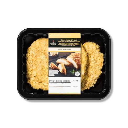 Honey Mustard Pretzel Breaded Chicken Breast - 16oz - Archer Farms™ - image 1 of 1