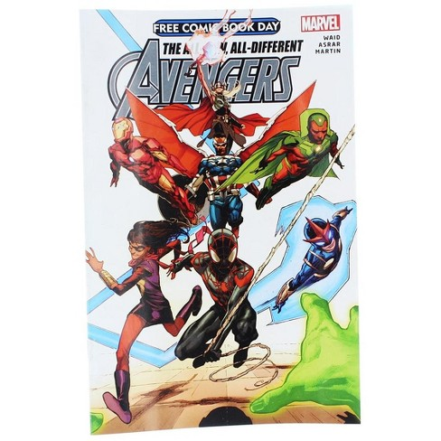 Marvel Marvel All-New All-Different Avengers Comic Book - image 1 of 2