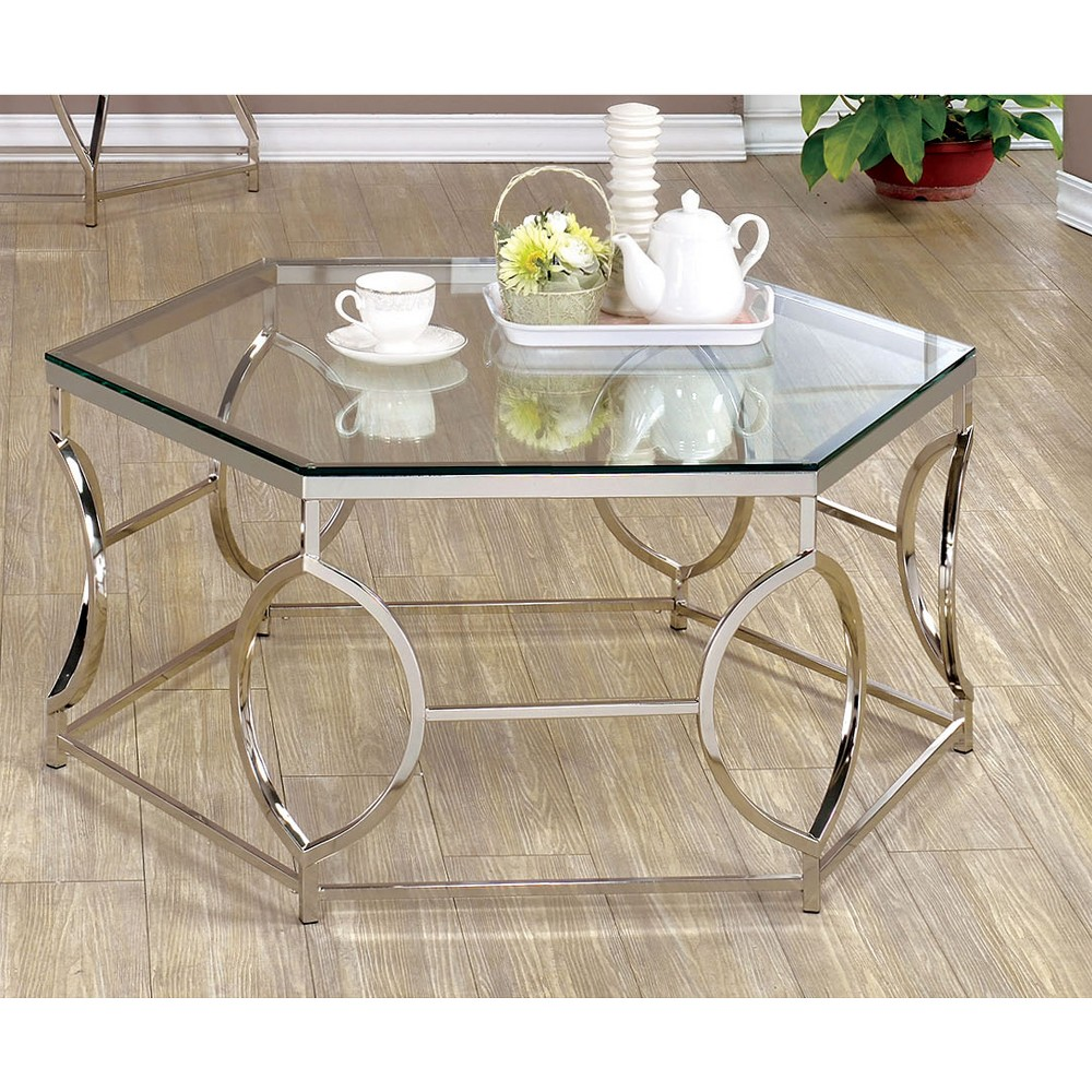 ioHomes Coffee Table Platinum