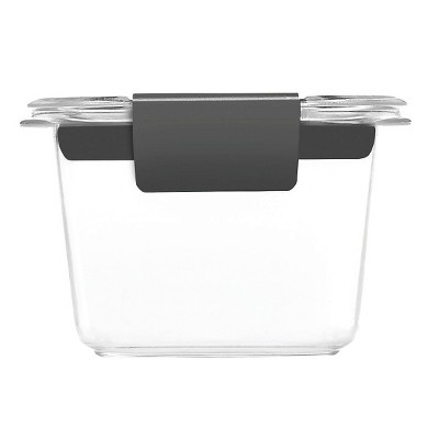 Rubbermaid 2pk 0.5 Cup Brilliance Food Storage Containers