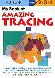 My Book of Amazing Tracing ( Kumon Workbooks) (Paperback) by Kumon Publishing North America, Inc