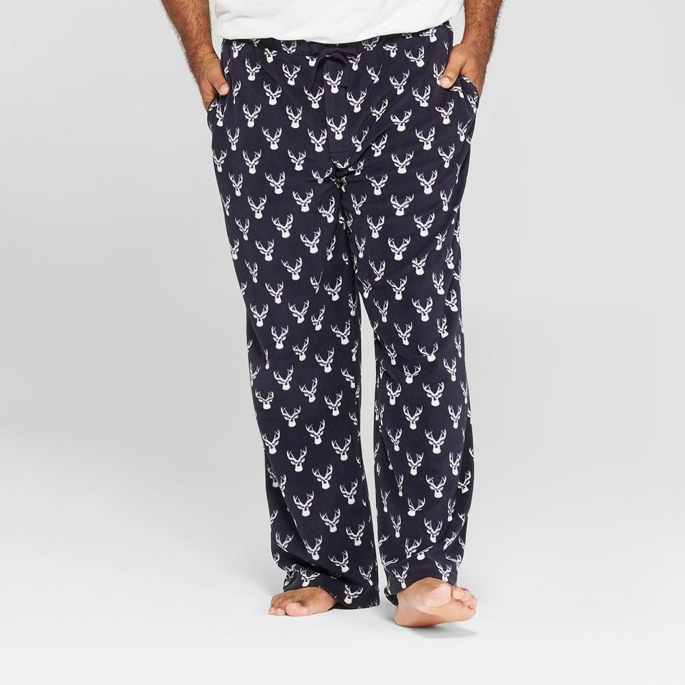 Men's Big & Tall Micro Fleece Pajama Pants - Goodfellow & Co Federal Blue 2XB