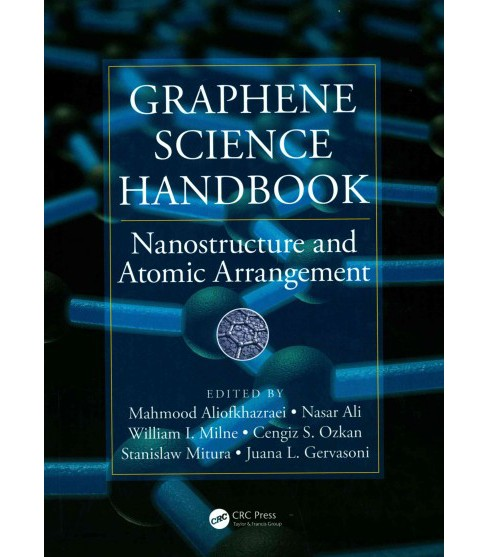 Graphene Science Handbook : Nanostructure and Atomic Arrangement (Hardcover) - image 1 of 1