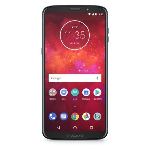 Motorola Z3 Play Universal Unlocked (32GB) - Deep Indigo - image 1 of 4