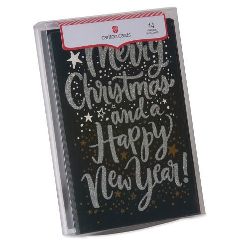 14ct american greetings merry christmas happy new year holiday boxed cards target