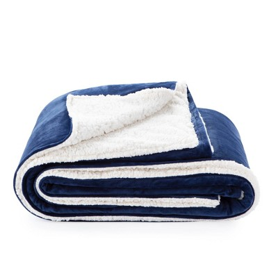 """48"""" x 72"""" Comfort Collection Sherpa Weighted Blanket Cover - Lucid"""