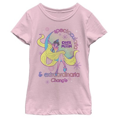 Girl's Over the Moon Goddess Chang'e Spectacularia T-Shirt