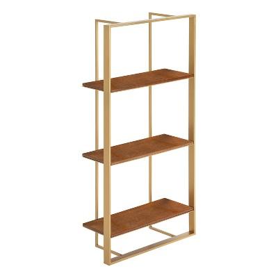 "15"" x 32"" Kercheval Modern Wood Shelf - Kate & Laurel All Things Decor"