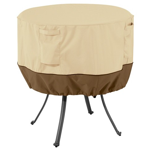 Veranda Large Round Patio Table Cover - Light Pebble - Classic Accessories - image 1 of 8