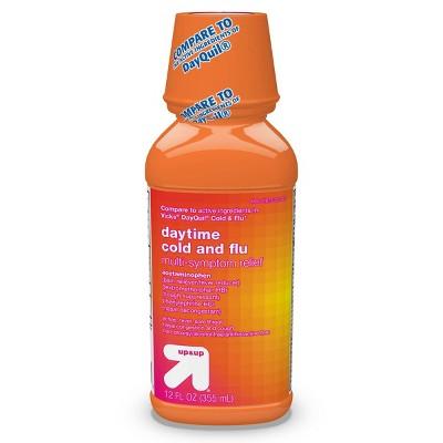 Daytime Cold & Flu Multi-symptom Relief Liquid - 12 fl oz - up & up™