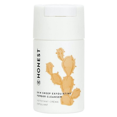 Honest Beauty Skin Sweep Exfoliating Powder Cleanser with Kaolin Clay - 1.4oz