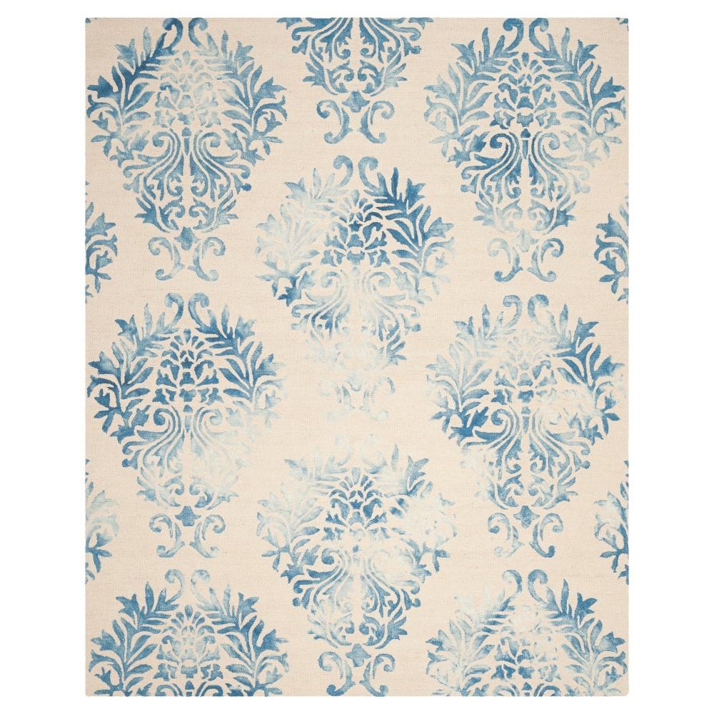 Garr Area Rug - Beige/Blue (8'x10') - Safavieh