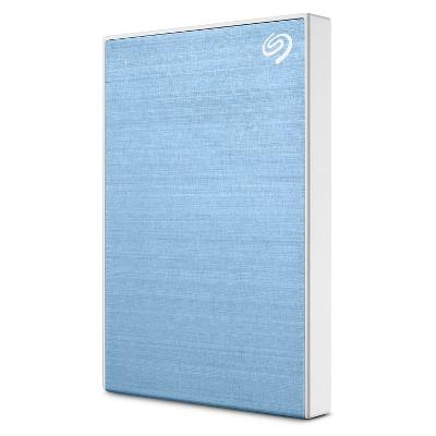 Seagate Backup Plus Slim 1TB External Hard Drive USB 3.0 Light Blue (STHN1000402)