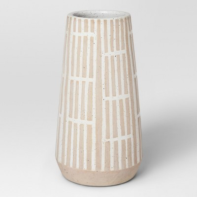Modern Vase Large - Tan/White - Project 62™