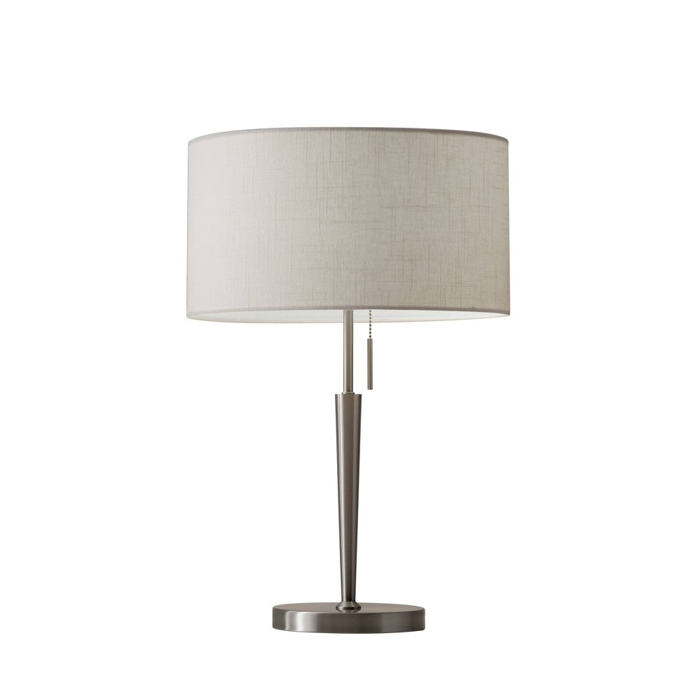 Image of Adesso Hayworth Table Lamp - Silver