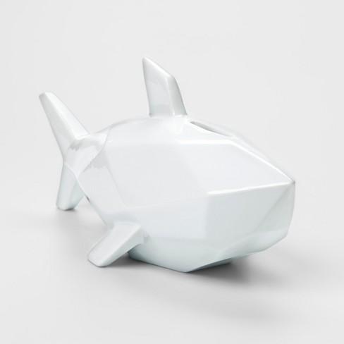 White Shark Decorative Coin Bank - Pillowfort™ - image 1 of 2
