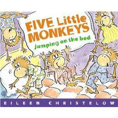 Five Little Monkeys Jumping on the Bed (Paperback)(Eileen Christelow)