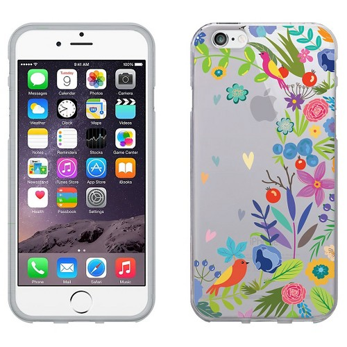 iPhone 6/6S Case - Otm Floral Prints Clear - Springtime, Spring Blossom