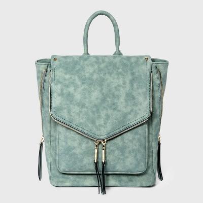 VR NYC Envelope Flap Backpack - Blue