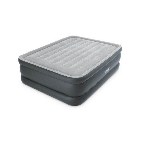 Intex Essential Rest High Rise Contoured Queen Airbed + Built-In Pump | 64139E - image 1 of 4